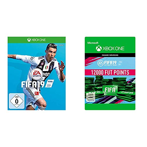 FIFA 19 [Xbox One] + 12,000 FUT Points [Download Code]