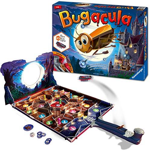 Ravensburger 20540 Bugacula-Spiel für Kinder ab 6 Jahren und Up-Race quross The Board Vermeidung des Hexbug Nano