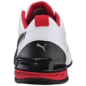 PUMA Men's Tazon 6 FM Puma White/ Puma Black/ Puma Silver Running Shoe - 8.5 D(M) US