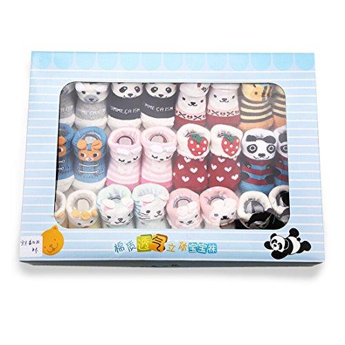 Value Buy Go Go Go - Chaussette - Bébé (fille) 0 à 24 mois multicolore multicolore taille unique