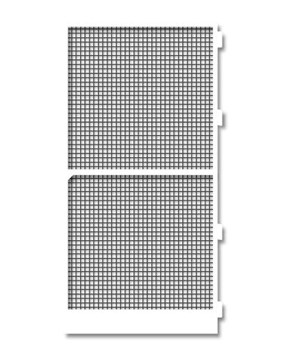 Schellenberg 70064 Mosquitera Marco para Puertas de terrazas y Balcones, Blanco, 120 x 240 cm Weiß