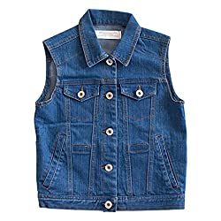denim weighted vest for kids
