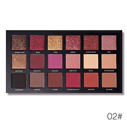 Coco UCANBE 18 Couleurs Long Lasting Shimmer Tint Yeux Paillettes Palette Kit ðilletons Taint Maquillage Ombre Set