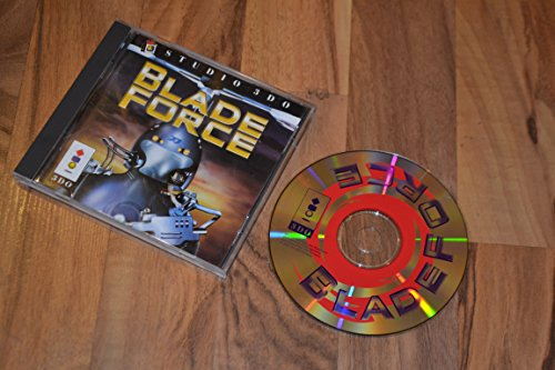 Blade Force 3DO Long Box