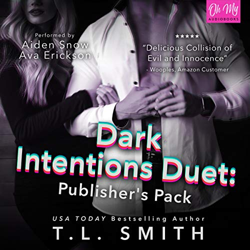 Dark Intentions Duet: Publisher's Pack audiobook cover art