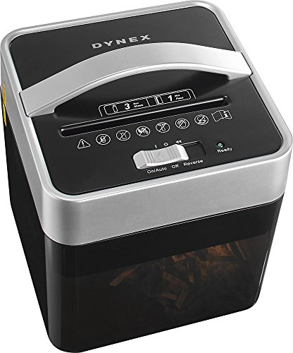 Cheapest Prices! Solayman Tech - Countertop 6-Sheet Crosscut Mail Shredder - Black/Silver