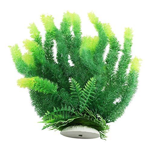 WANGDEE Aquarium Wasserpflanzen,Künstliche Wasserpflanzen, Bunter Kunststoff Aquarium Hydroponische Pflanzen Aquariumpflanzen Dekoration