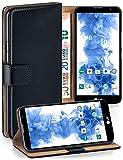 moex Premium Handytasche kompatibel mit LG G4c / LG Magna -