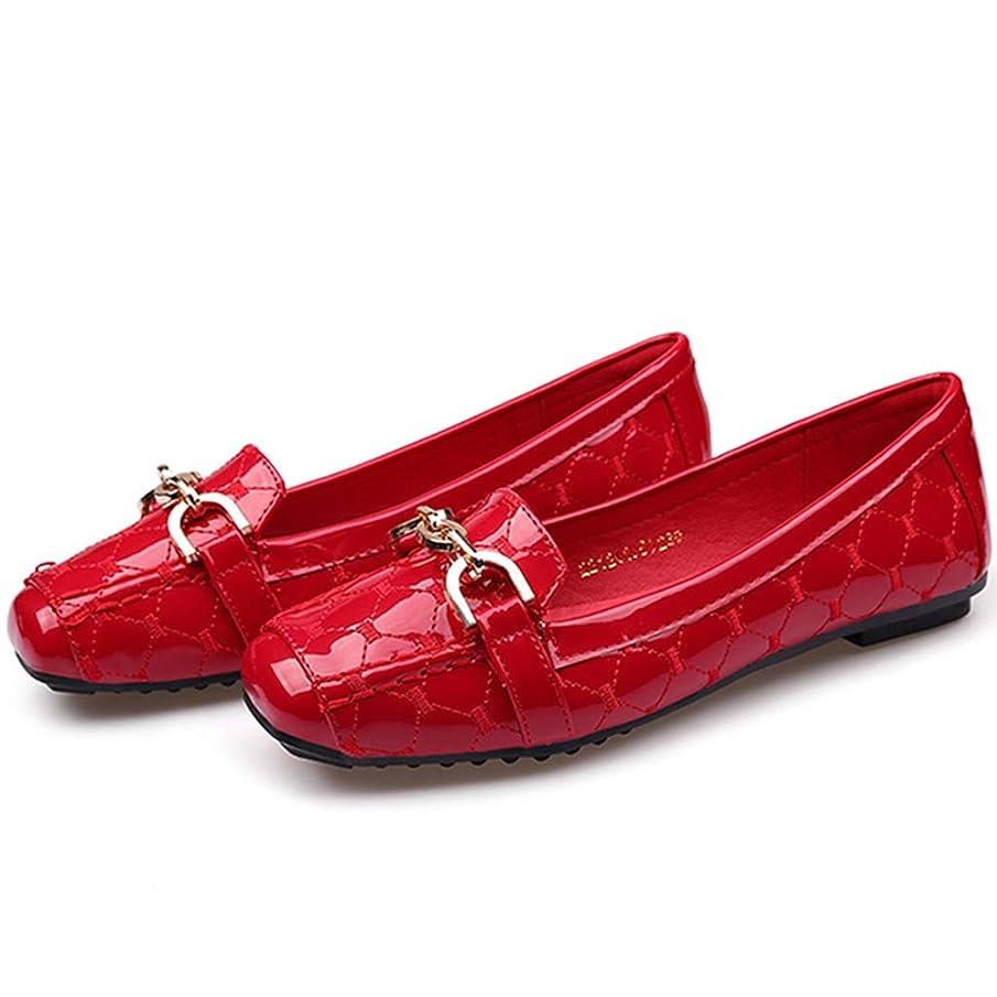 マウンド前にミス[リンゼ] スクエアトゥパンプス レーディスシューズ フラット 歩きやすい ローファー 無地 疲れにくい 学生 女性 ぺたんこ靴 カジュアルシューズ シューズ レディース 痛くない オフィス 撥水加工 エスパドリーユ