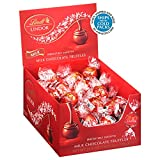 Lindt LINDOR Milk Chocolate Truffles, Milk Chocolate Candy with Smooth, Melting Truffle Center, 25.4 oz., 60 Count