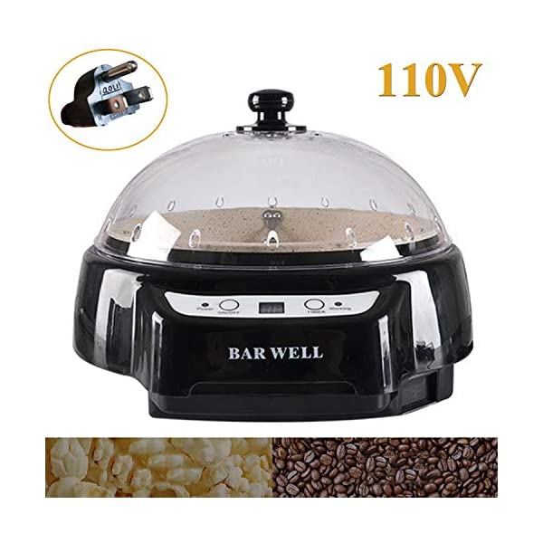 Coffee Roaster Machine Electric 110V (Black)