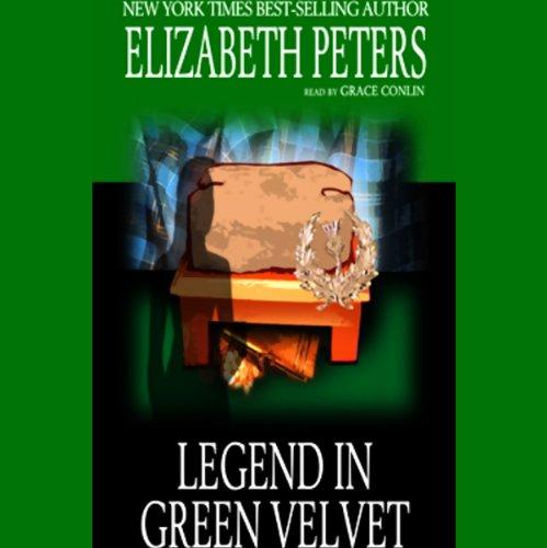 The Legend in Green Velvet audiobook cover art