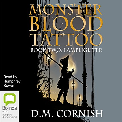 Monster Blood Tattoo # 2 audiobook cover art