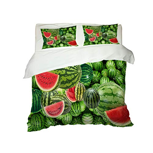 European Style Digital Printing Duvet Cover 3-Piece Set Of Microfiber Washed Bedding Suitable For Hotels, Dormitories, Bedrooms