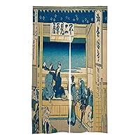 SPXUBZ日本ののれんカーテンのれんカーテンタペストリーフィッティングルームカーテンパーティションカーテンドアハンギングタペストリー家庭用またはレストラン用