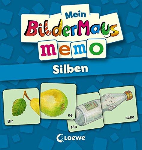 Loewe Mein Bildermaus-Memo - Silben (Kinderspiel)