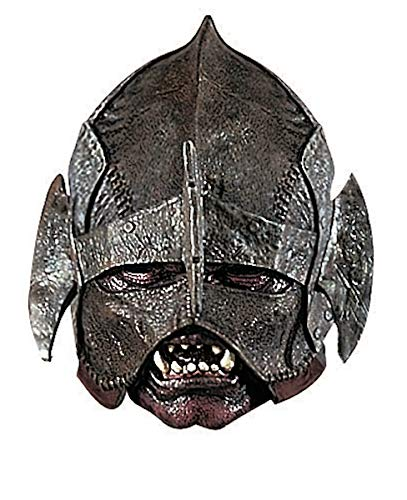 Rubie's Men's Lord Of The Rings Deluxe Adult Uruk-Hai Mask, Multicolor, One Size