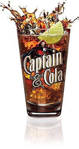 Captain Morgan Cola vetro 33CL Bicchieri Bicchiere Long Drink in vetro