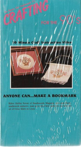 Crafting for the 90's - Anyone Can...Make a Bookmark