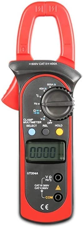 WXQ-XQ UT203 Max 59% OFF 400A AC DC Clamp Resistance Long Beach Mall Meter Frequency Digital