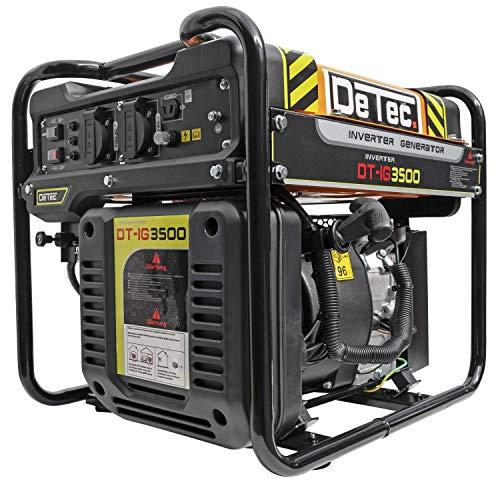 DeTec. 3500 Watt Digital-Inverter Stromerzeuger Stromaggregat 230V