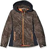 Ice Peak Ragazza Regan JR Softshell Giacca, Bambina, 251810686I, Verde Scuro, 176