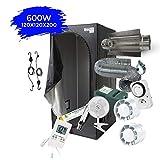 Pack Chambre de culture Complet 80x80x160 / 100x100x200 / 120x120x200cm - 250W 400W...