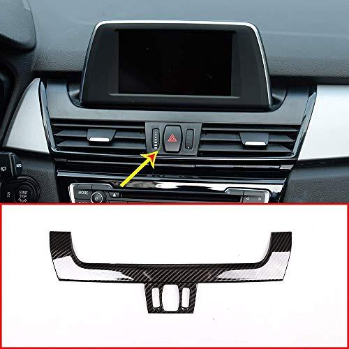 Contrôle de la Voiture ABS sous la Garniture du Cadre inférieur du Panneau de Navigation pour 2 modèles de Fibre de Carbone 218i F45 F46 2015-2017