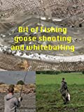A Bit of Fishing,Goose shooting and Whitebaiting