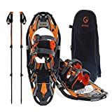 Best Snowshoes For Women - ACOVORY 21inches Light Weight with Snowshoes Trekking Poles Review