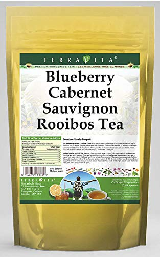 Blueberry Cabernet Sauvignon Rooibos Tea bags ZIN: 50 Bargain Very popular! sale 5442 tea