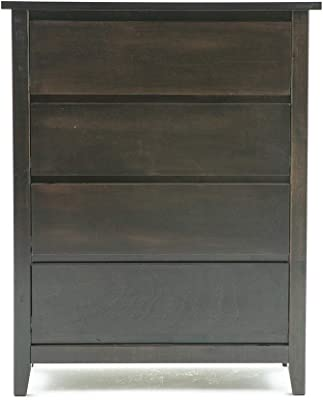 Danube Home Canoppy Chest of Drawer - Capuccino