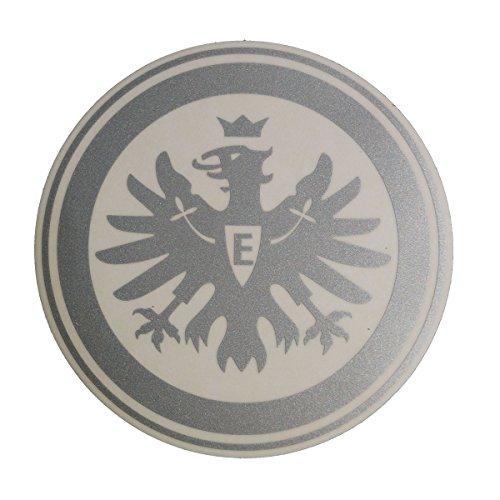 Eintracht Frankfurt stickers, stickers, autosticker logo zilver - plus gratis sticker voor Frankfurt