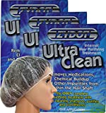 Zydot Ultra Clean Shampoo and Conditioner Kit to Detoxify 3 Pack. Clear and Cleanse Your Hair. Near Instant Cleansing, Toxin Removal and Detox of Hair Follicle to Pass Your Detoxifying Requirements.