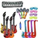 ZCOINS 18PCS Inflatable Guitar S...