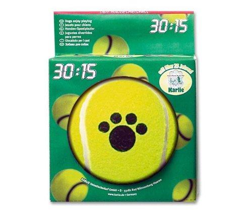 Karlie Balle De Tennis Big Bobble – 13 cm, balle, jouets pour chiens et chats