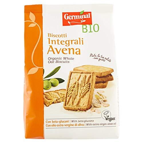 Germinal Bio Biscotti Integrali Avena - 2 pezzi da 300 g [600 g]