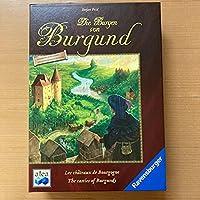 ブルゴーニュの城 独語版 日本語訳付き ボードゲーム