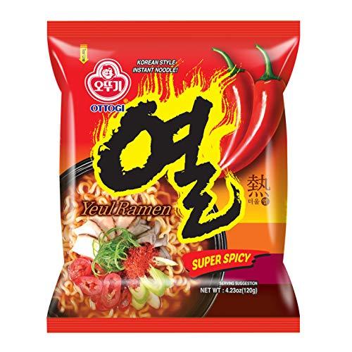[OTTOGI] Yeul Ramen SUPER SPICY, Korean Style Instant Noodle, Traditional Korean instant ramen extreme super hot ramen (120g) - 10 Pack