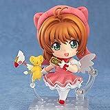 Aoemone Card Captor Sakura Kinomoto Sakura Q Versión Nendoroid Figuras De Acción con Accesorios Figuras De Anime Móviles Estatua Juguete Juego De Dibujos Animados Modelo De Personaje Decoraciones