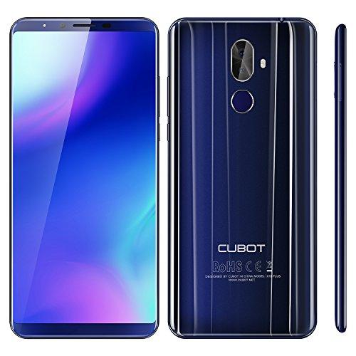 "CUBOT X18 Plus 15,2 cm (5.99"") 4 GB 64 GB SIM Doble 4G Azul 4000 mAh - Smartphone (15,2 cm (5.99""), 4 GB, 64 GB, 20 MP, Android 8.0, Azul)"