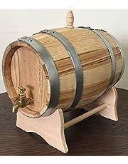 Barril de castaño de 5 litros con grifo de latón