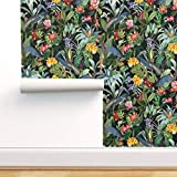 Spoonflower Pre-Pasted Removable Wallpaper,...