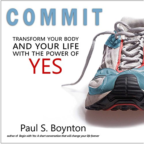 Commit audiobook cover art