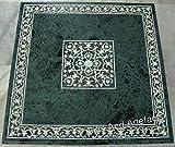 Gifts And Artefacts Table basse en marbre vert pour canapé ou table basse - Peut être utilisée dans le salon -...