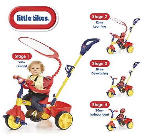 Little Tikes 618277E5PO - Triciclo 3 en 1 adaptado al crecimiento [Importado de Alemania]