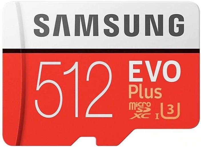 Samsung Evo Plus 512GB MicroSD XC 100MB/s UHS-I Memory Card for Samsung Galaxy S8 S9 S10 Plus + S10e USB 3.0 MemoryMarket Dual Slot MicroSD & SD Memory Card Reader