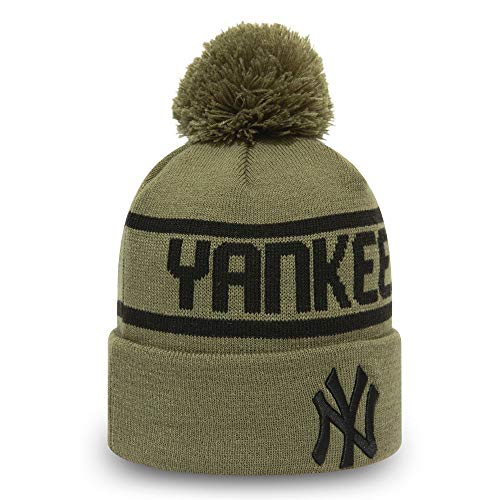 New Era Winter Bobble Cuff Knit Beanie - New York Yankees
