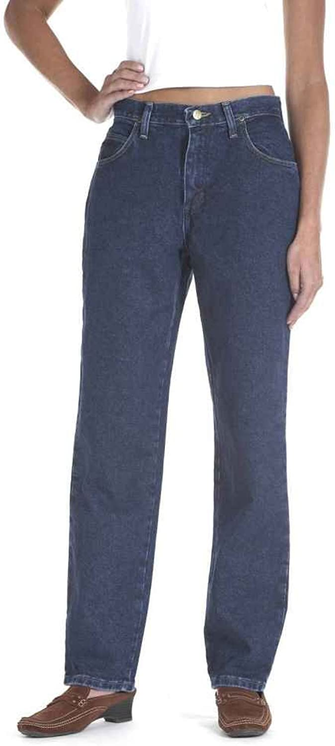 Wrangler bluees Women's 30 inch Inseam Relaxed Silhouette Jeans, ANTIQUE INDIGO, 20