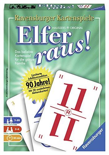 Ravensburger 27152 - Elfer raus! – Jubiläums-Ausgabe